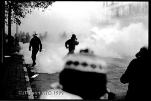 Protest ends Riots Begin 2 by NeighborJohn