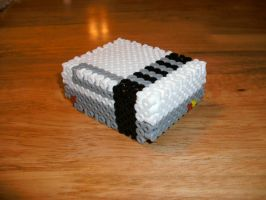 3D NES in Perler beads by MR16Bits