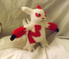 Zangoose Crochet by PixelCrochet