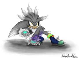 Silver the Werehog by Shadehedgie77