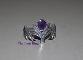 Zelda Ring in gothic colours by TheIronRing