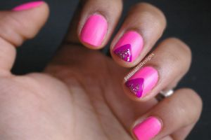 Pink Chevron by FatimattiDesigns