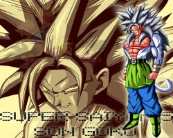 Son Goku AF Wallpaper by Gothax