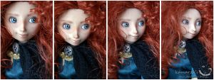 Faces of Merida by kamarza