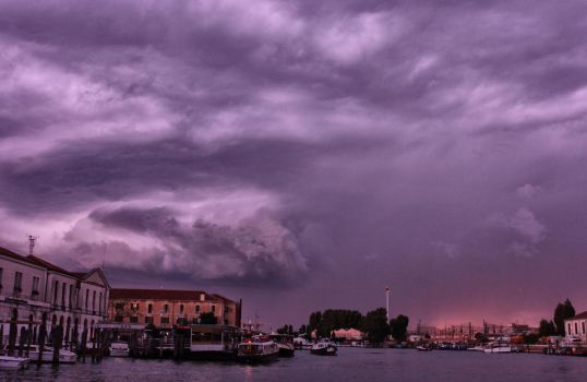 Storm over Venice by Joe795