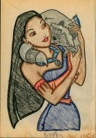 Pocohontas by Tinkerbell0522