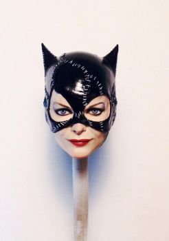 Catwoman 2.0 painted by Sean-Dabbs-fx