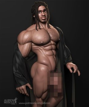 Paul, model of the month - censored by albron111