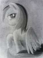 Charcoal Rainbow Dash 2 by EyvindWolf