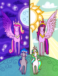 .:Princesses in the Making:. by flaredrake20