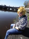 Casual!Roxas- Memory of a Smile by DreamsOverRealityCos