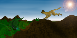 Battle for Territory by DragonThunderstorm