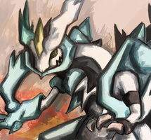 White Kyurem by rukoshi