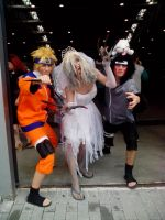 Bride Witch,Naruto and Kiba by Kalix5