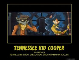 Tennessee Kid Cooper Poster by Overlordflinx