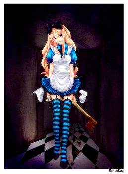 The Wrong Alice by hachiyuki