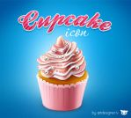 Cupcake icon by LazyCrazy