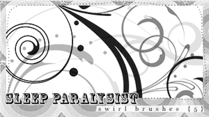 5 Swirl Brushes by sleepparalysistmusic