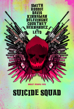 Suicide Squad - Poster (Expendables Style) by SuperDude001
