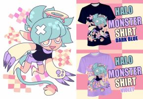Halo MONSTER T-SHIRT by Mafer
