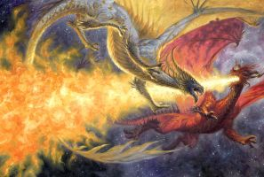 Dragon Duel by RalphHorsley
