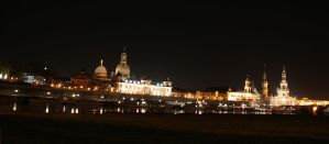 Skyline of Dresden by fairytale-gone-bad