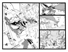 Another Rocket Raccoon page by timothygreenII