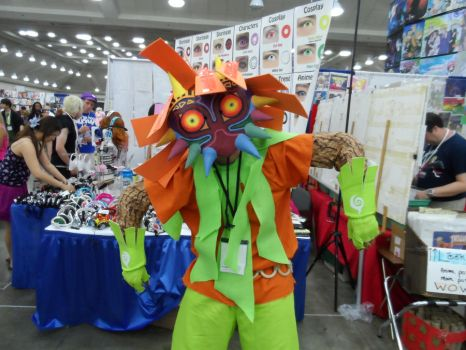 Hell yea, found myself  a Skull Kid by 0k4m