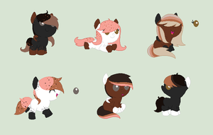 Mochaccino adopts - *10* p. - CLOSED by theWeaverofTales