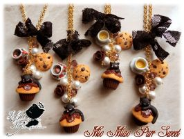 Mio Miao Chocolate Passion by LeChatNoirHandMade