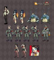 Skullgirls NPC Cleanup by reirei