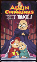 The Chipmunks Meet Dracula VHS by Duiker