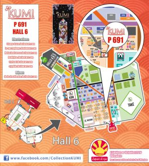 JAPAN EXPO 2016 - Plan by Clange-kaze