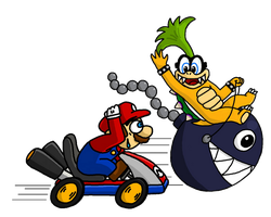 Mario... Kart? by randomouscrap