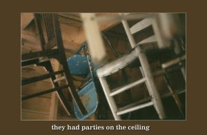 parties on the ceiling by mister-e