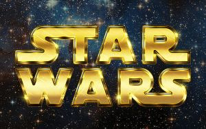 Retro Star Wars Inspired Text Effect by Designslots