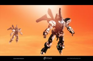THE AXN-01 Sunset by UEGProductions