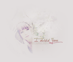 I miss You --H-- by fififlora