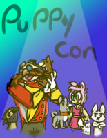 Fuzzy Puppy Buddies Sonicboom GingaNG by VioletHybrid