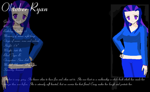 Oktober Ryan Ref Sheet by LilAngel0913