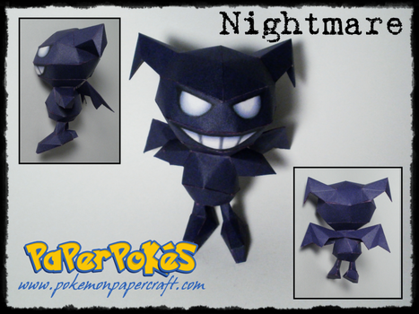 Nightmare Papercraft by Skeleman