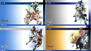 Kingdom Hearts Wallpapers - Windows 7/8 - 1080p by Twilight-Paladin