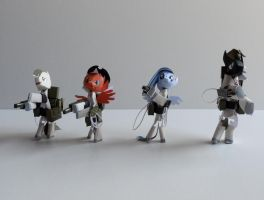 CHARACTER LINE UP by PUFFINSTUDIOS