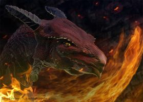 Fire Dragon by JarodValentin