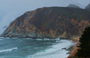 Fog and Waves Roll In by Marilyn958