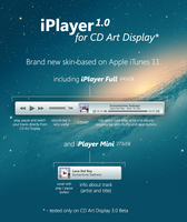 iPlayer 1.0 for CD Art Display by LaunchLook
