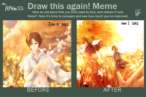 Draw Again meme 02 by aphin123