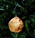 Life Size Chocolate Chip Cookie Christmas Ornament by Bon-AppetEats