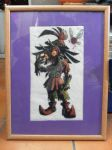 cross-stitch: skull kid by DJ95code-hope