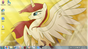 MLP in November: Empress Faust wallpaper by SuperShadiw1010